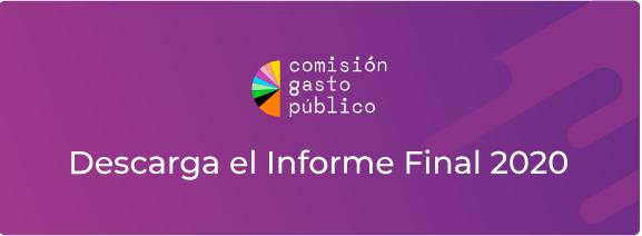Informe final Comisión gasto público